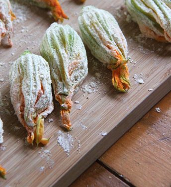 Squash Blossom Fritters