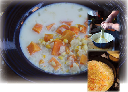 Sweet Potato Corn Chowder