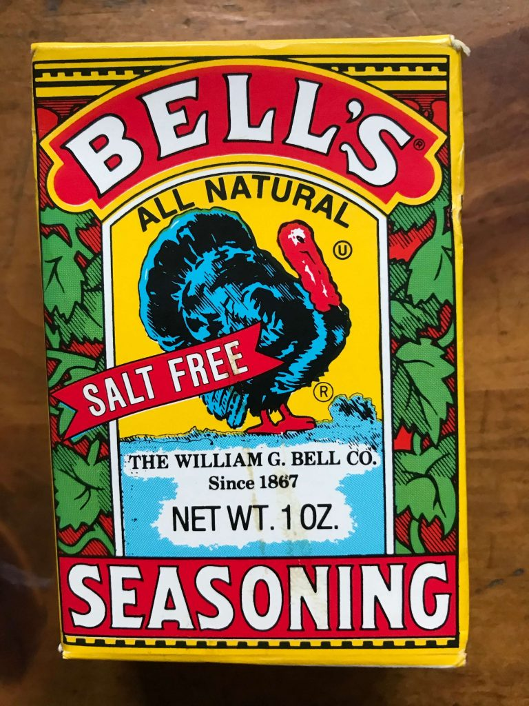 Bells Seasonings box