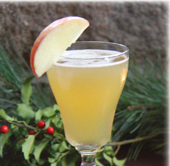 Bourbon Apple Switchel
