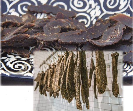 Biltong : South Africans (Saffas) jerk-ish version of dried meat