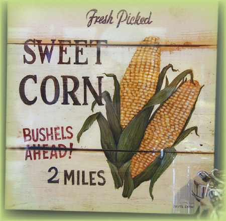 Aww, Shucks : TIME FOR SWEET SUMMER CORN
